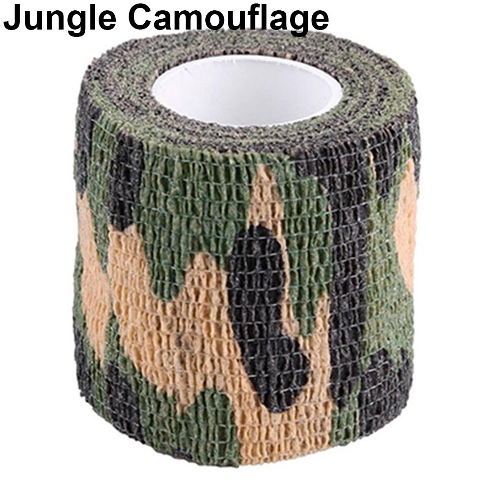 Outdoor Camouflage Tape Retaining Plastic Retractable Non-woven Outdoor Camouflage Tape Jungle camouflage