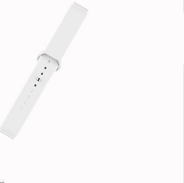 B57 Color Screen Fitness Bracelet Activity Tracker Heart Rate Blood Pressure Monitor Watch white strap