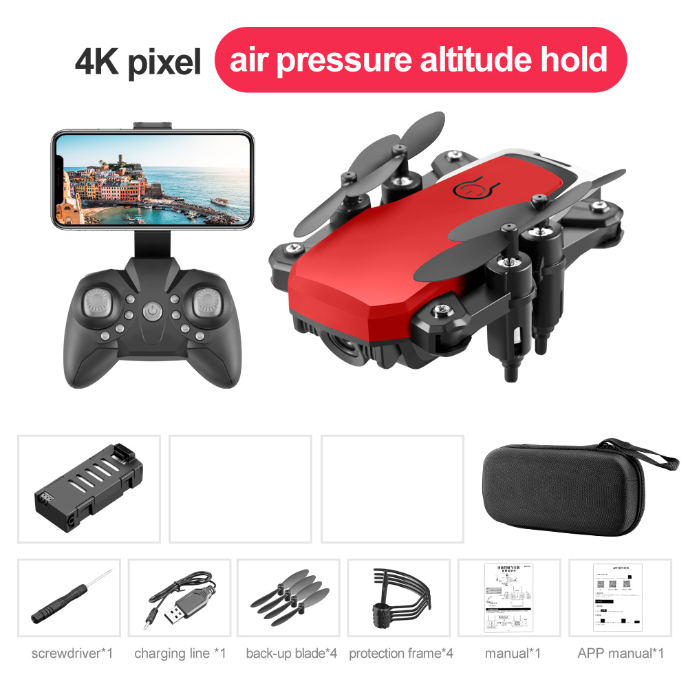 LF606 Mini Drone with Camera Altitude Hold RC Drones with Camera HD Wifi FPV Quadcopter Dron RC Helicopter 4K