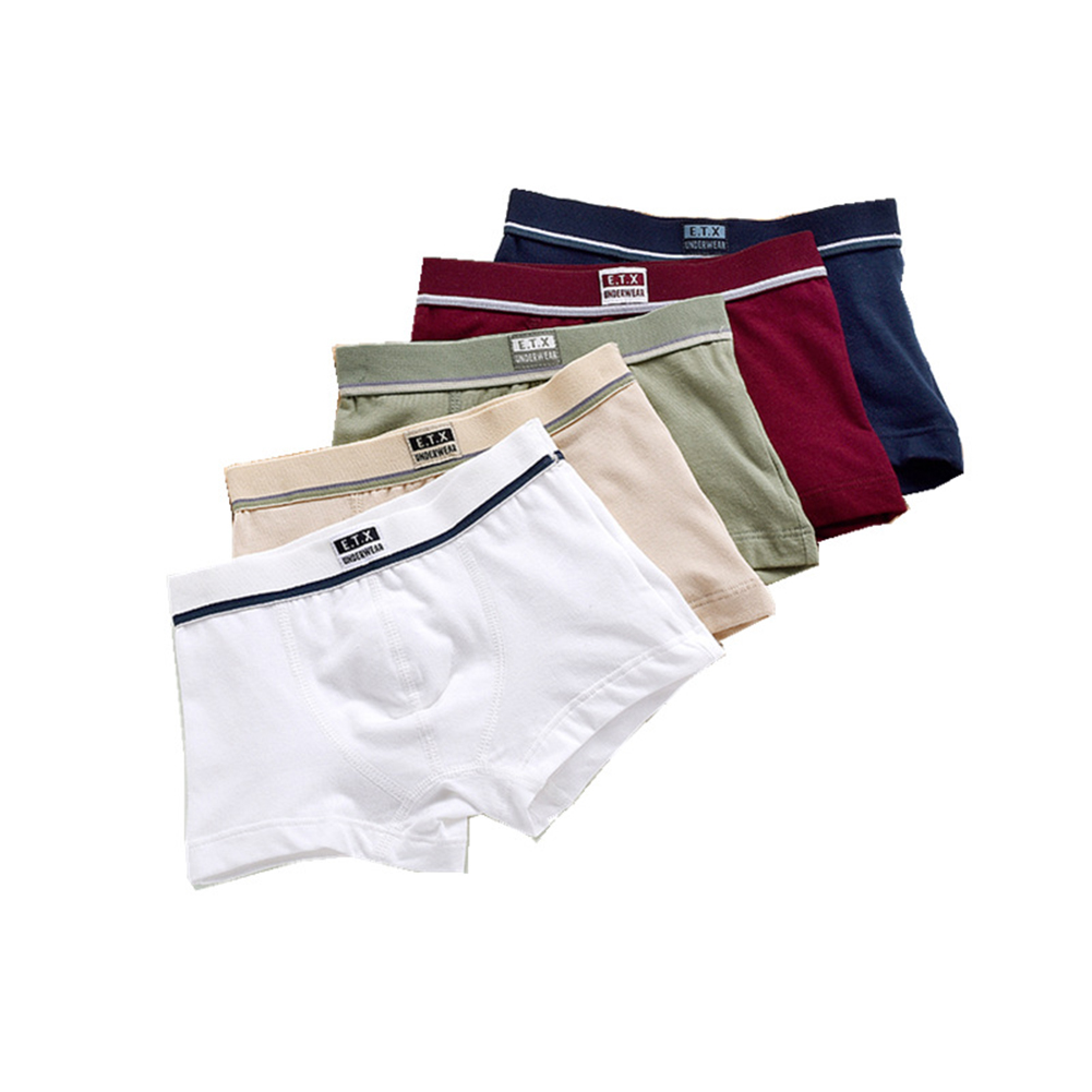 5PCS/Set Children Boy Underpants 4-5
