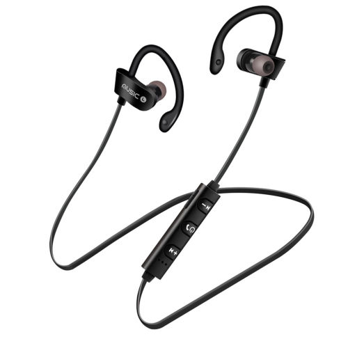 Wholesale Bluetooth Earphones Wireless Headphones Earbuds Sports Gym For Iphone Samsung Black From China