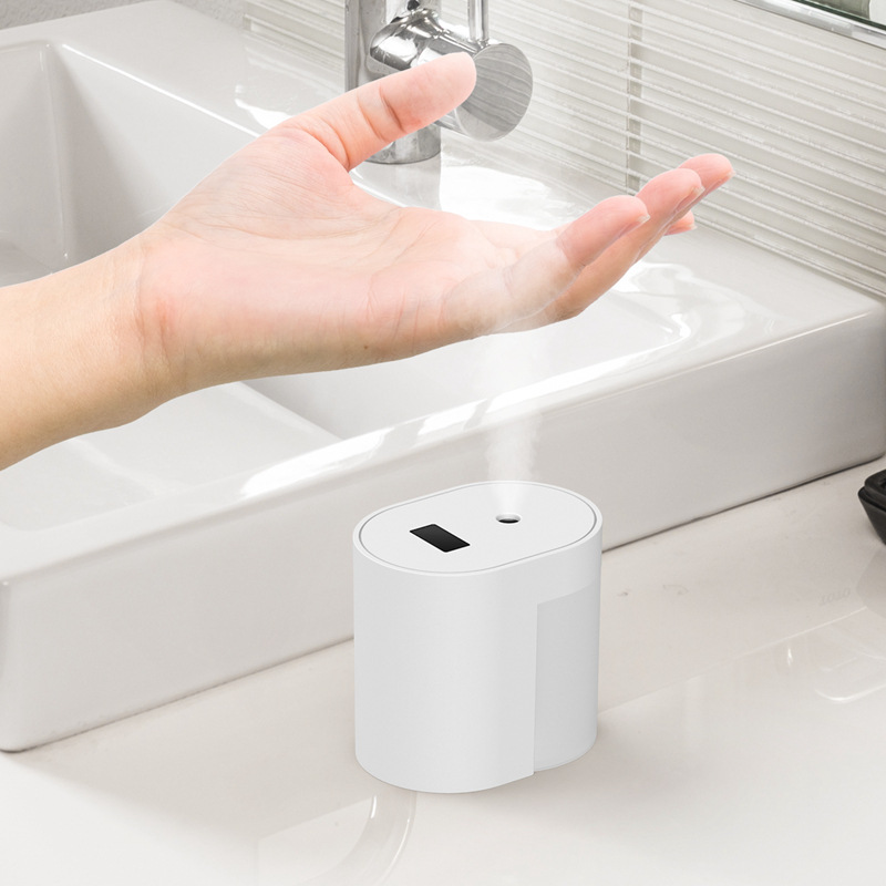 Air Purifier Sterilizer Portable Automatic Induction Soap Dispenser Sterilization Sprayer white
