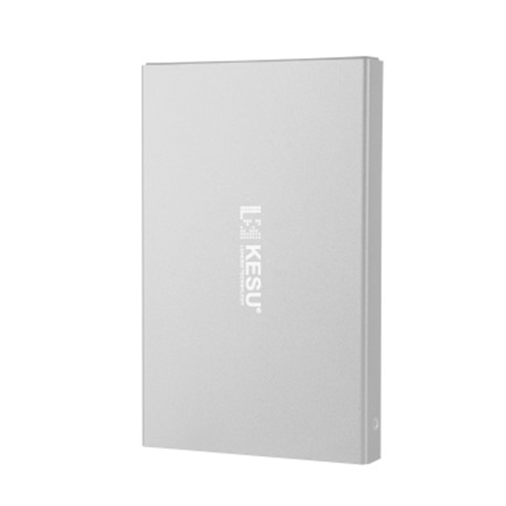 External Hard Drive 160G 500G 1TB 2TB Storage USB3.0 HDD Earthquake-proof and Fall-proof Mobile Hard Disk Xbox PS4 TV Box Silver USB 3.0
