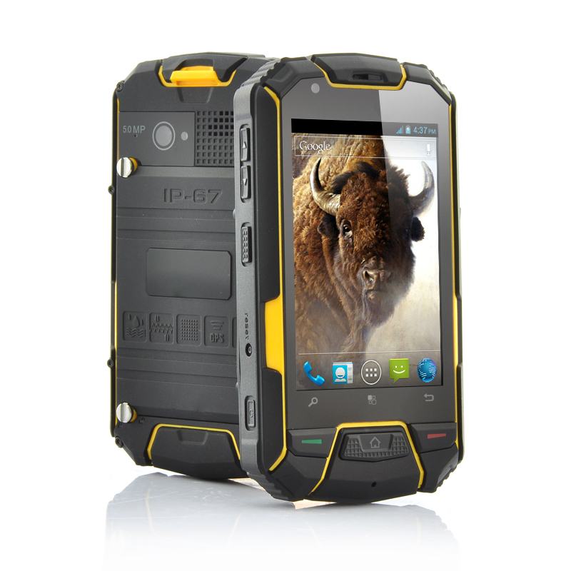 3.5 Inch Android Rugged 2 Core Phone - Bison