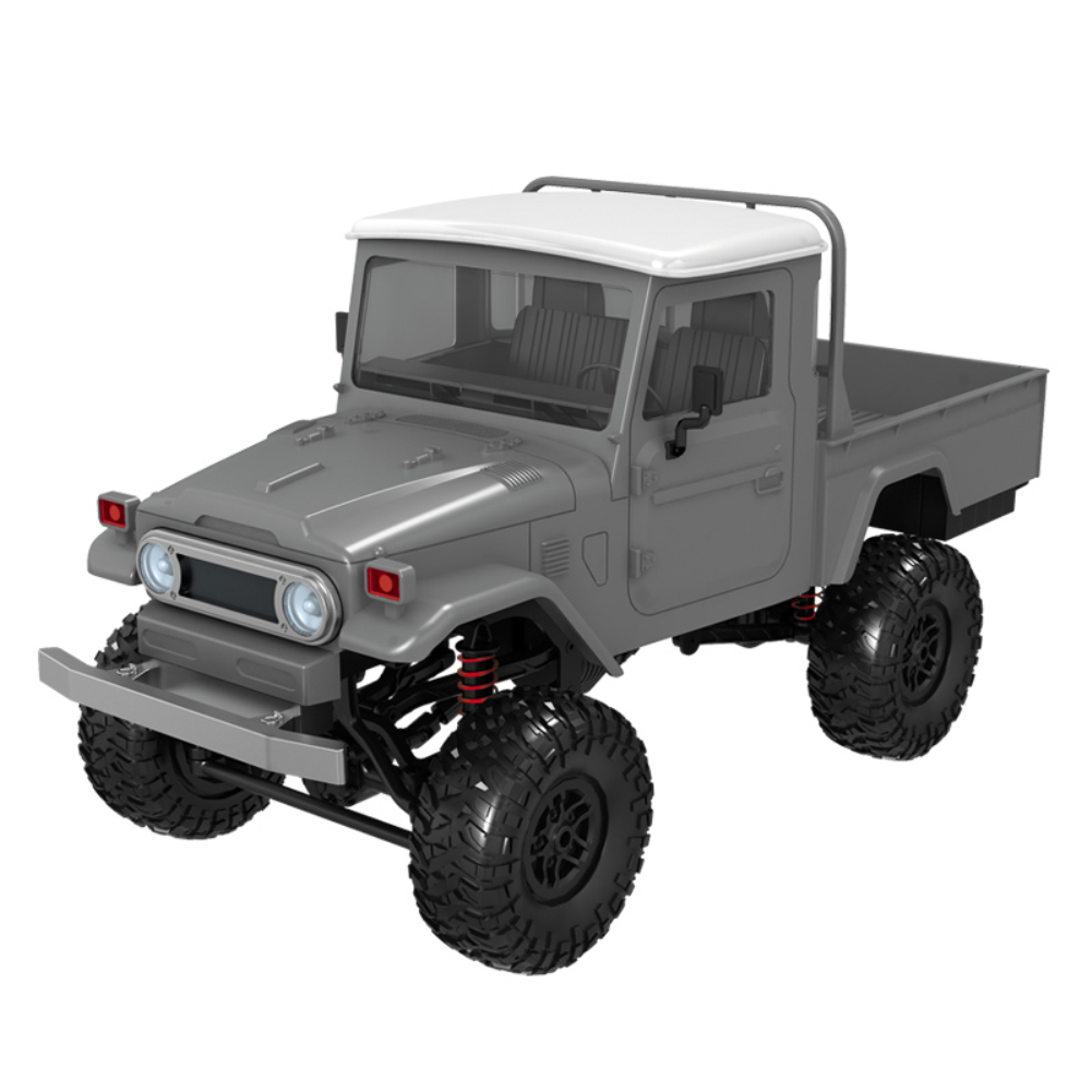 1:12 Simulation Truck RC Car Modeling Toy with Remote Control for Kids  Silver vehicle MN45_1:12