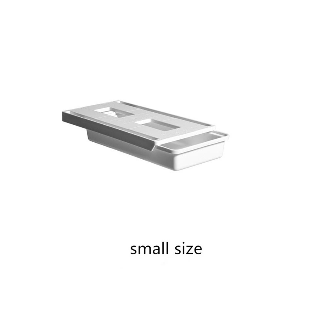 Under  Desk  Drawer Hidden Organizer Storage Box Holder Table Accessories Small