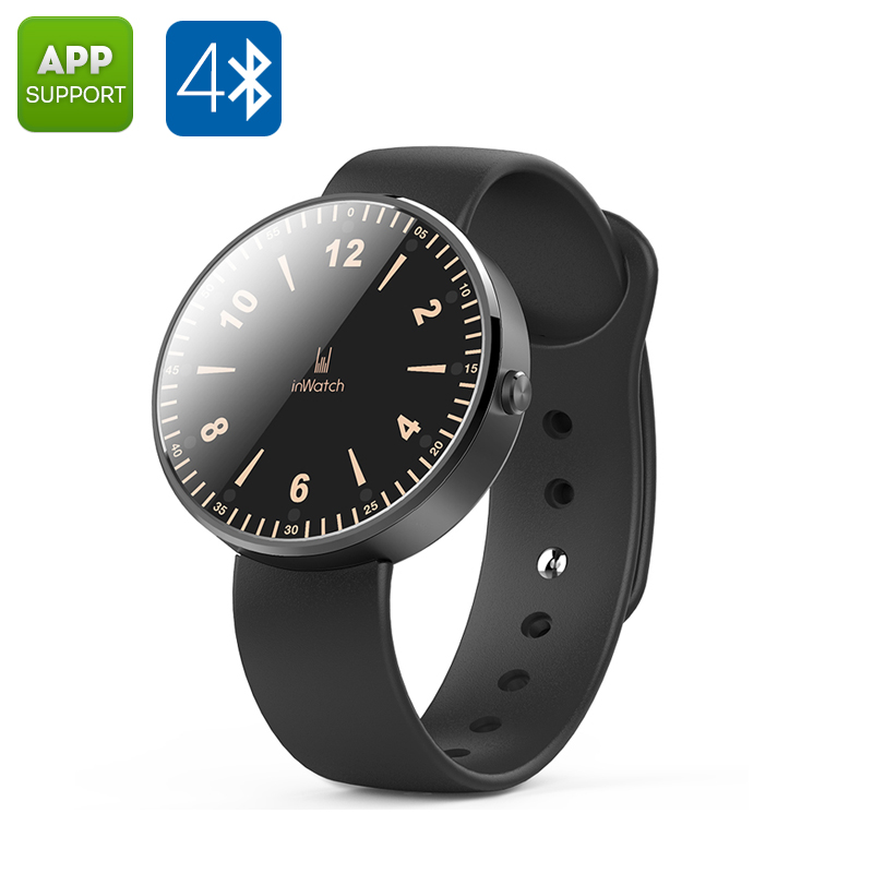 inWatch Smart Watch (Black)