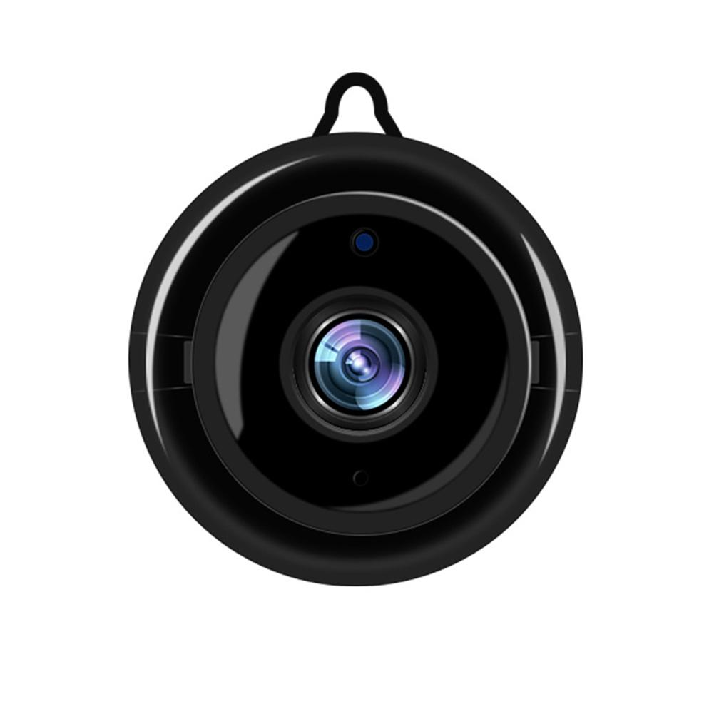 No Light Night Vision 720P HD Wireless WIFI Surveillance Camera Mobile Remote Voice Intercom black_UK Plug