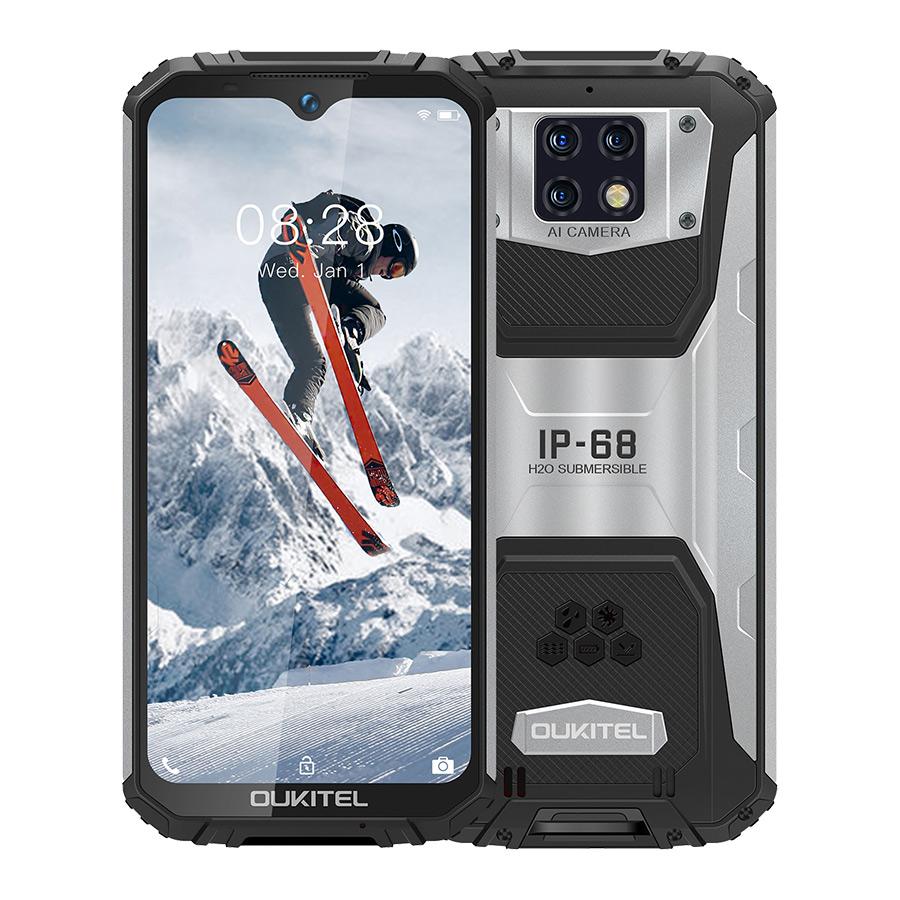 OUKITEL WP6 Ip68 Rugged Waterproof Smartphone Mt6771t Octa Core 9v/2a 10000mah Battery 48mp Triple Camera 6gb 128gb Mobile Phone black