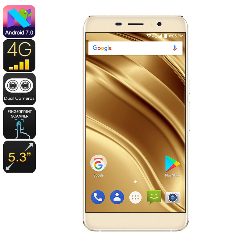 Ulefone S8 Pro Android Smartphone (Gold)