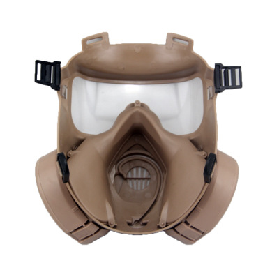 M50 Gas Mask Field Operations Riding Breathing Mask Sand color