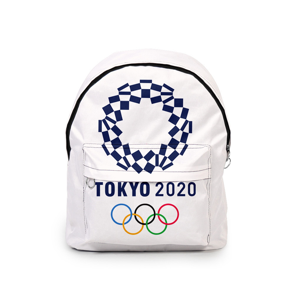 Sports Backpack 2020 Tokyo Olympics Print Casual Bags I_Free size