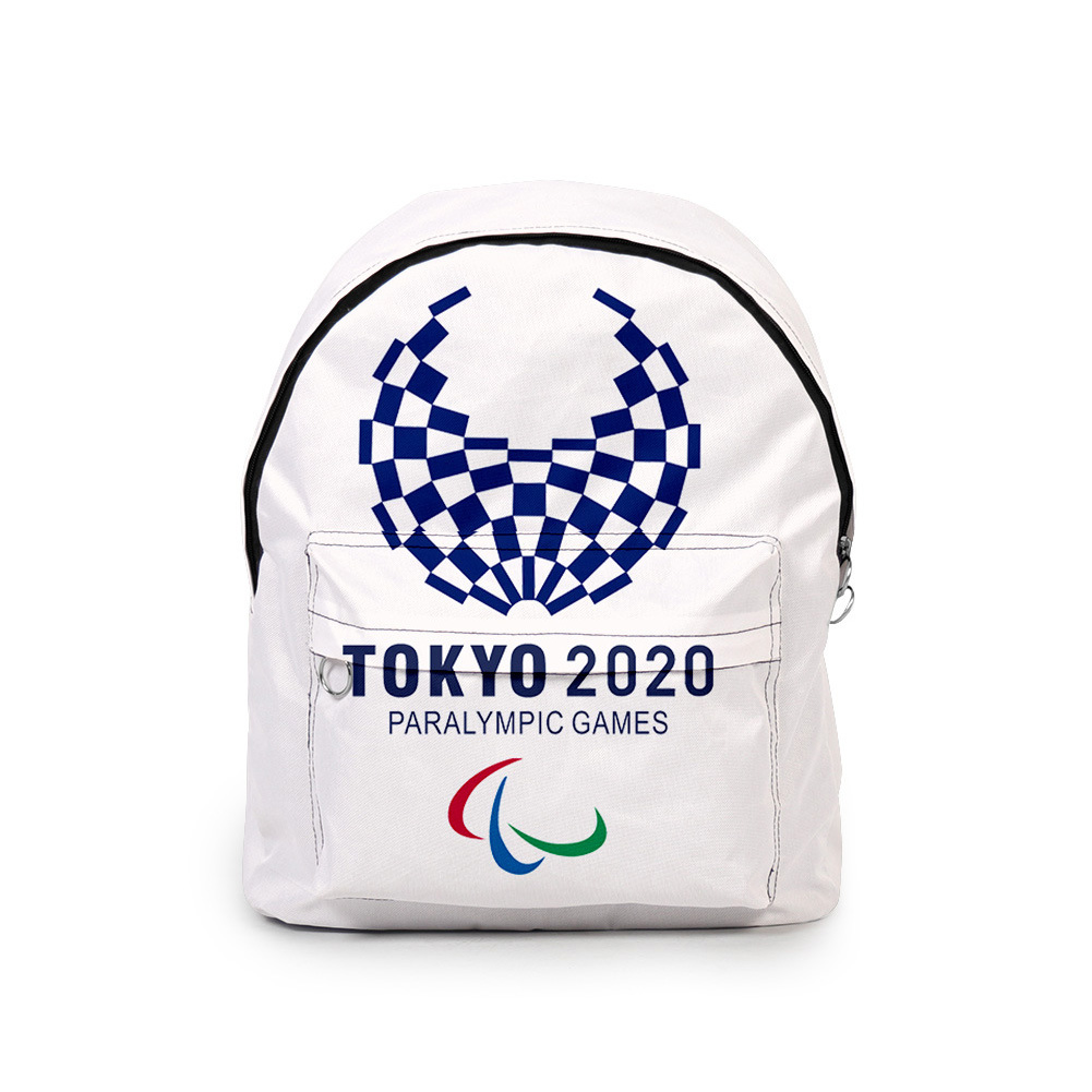 Sports Backpack 2020 Tokyo Olympics Print Casual Bags H_Free size