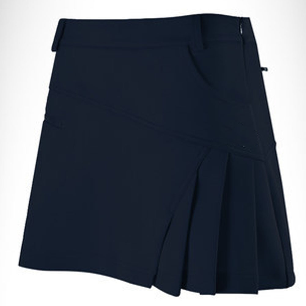Golf Clothes Female Anti-emptied Cotton Soft Breathable Sweat Absorbtion Skirt Qz012 navy_S