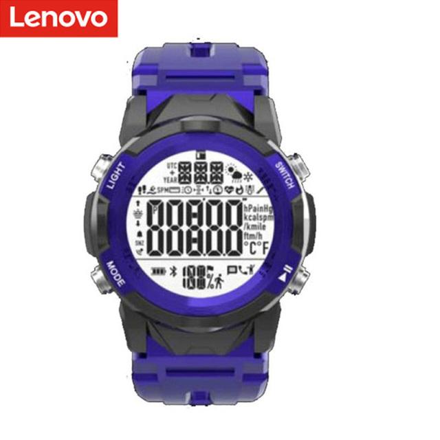 Original LENOVO C2 Smartwatch Fitness Tracker Heart Rate Sleep Monitor Watch Waterproof Women Men Sport Smart Watch blue