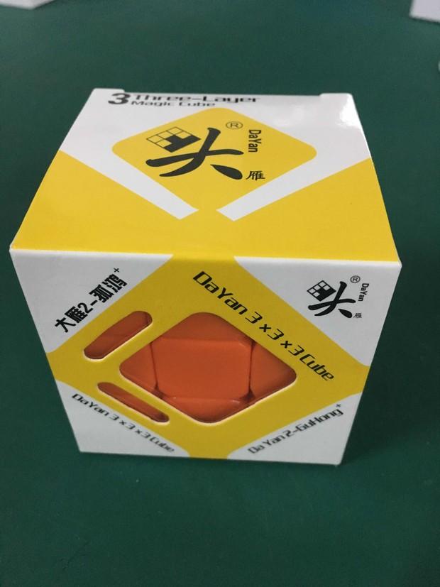 [US Direct] Dayan II Guhong Plus V2 3x3 Speedcube Puzzle 6 Color Stickerless