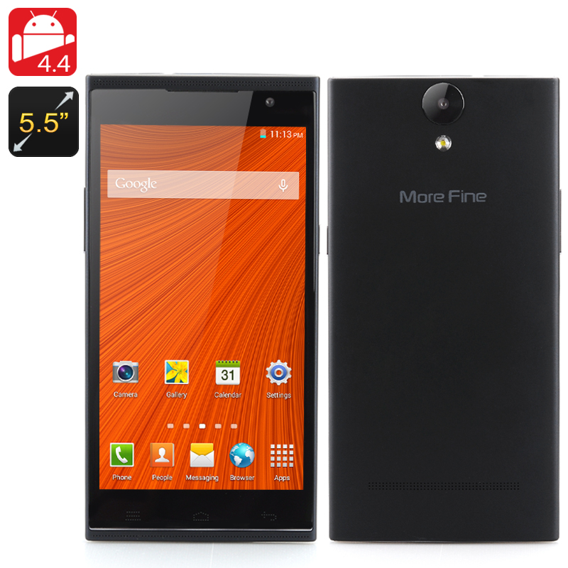 More Fine U5 Smartphone (Black)