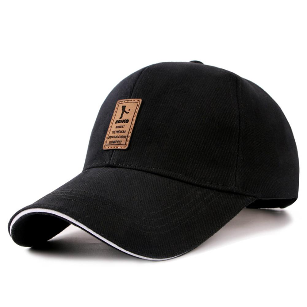 Outdoor Sport Casual Fashion Sun ProtectedGolf  Baseball Cap Snapback Hat black_adjustable