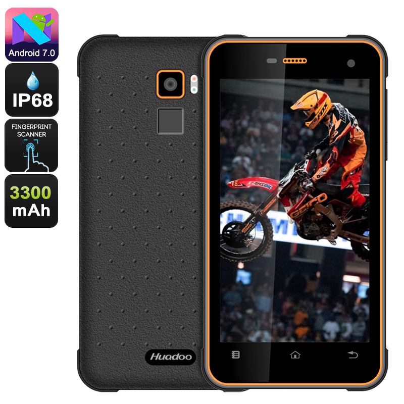 Huadoo HG11 Rugged Phone (Orange)