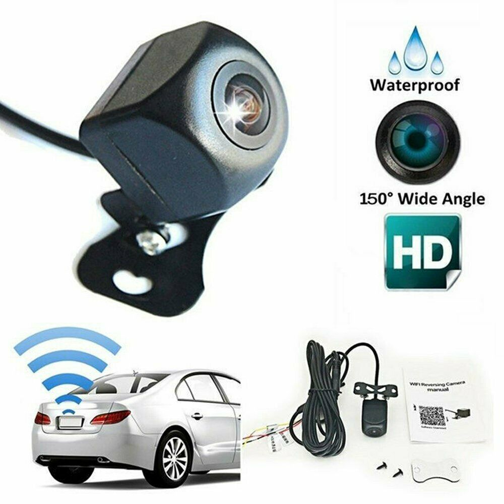 Wifi Hd Wireless Car Rear View Night Vision Cam Backup Reverse Camera For Phone