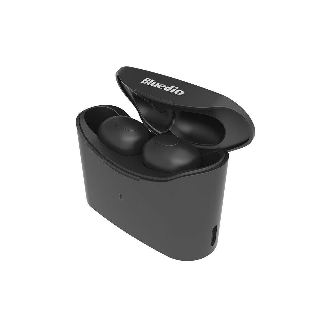 T-elf TWS Bluetooth 5.0 Sports Wireless Earphones with Charging Box black