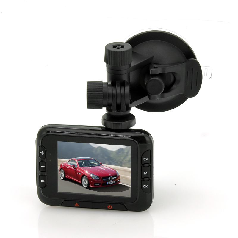 HD Car DVR Dashcam with G Sensor