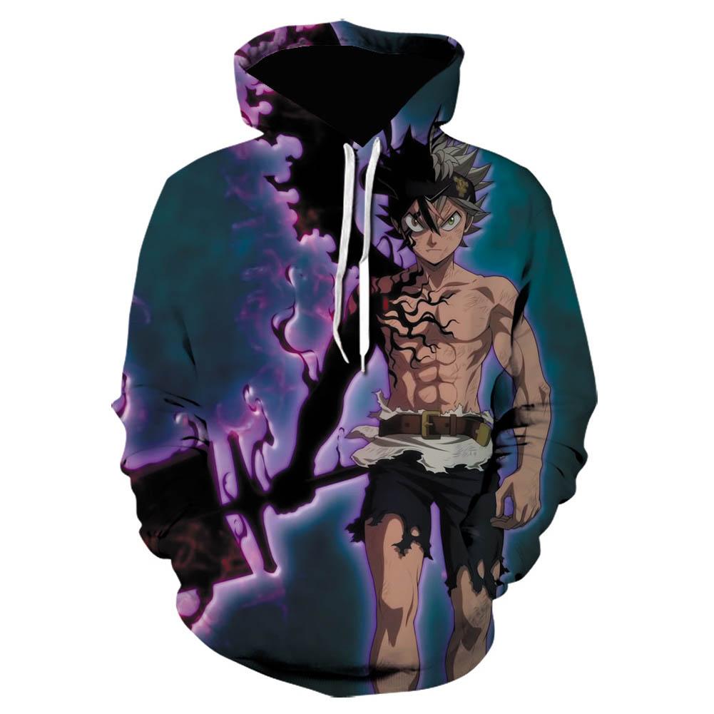 3D Digital Pattern Printed Top Casual Hoodie Leisure Loose Pullover for Man WE-1371_L