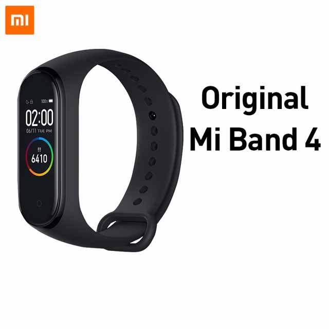 Original XIAOMI MiBand 4 The Avengers Fitness Tracker OTA Upgrade Timer Countdown Weather Forecast Smart Wristband Version Millet bracelet 4