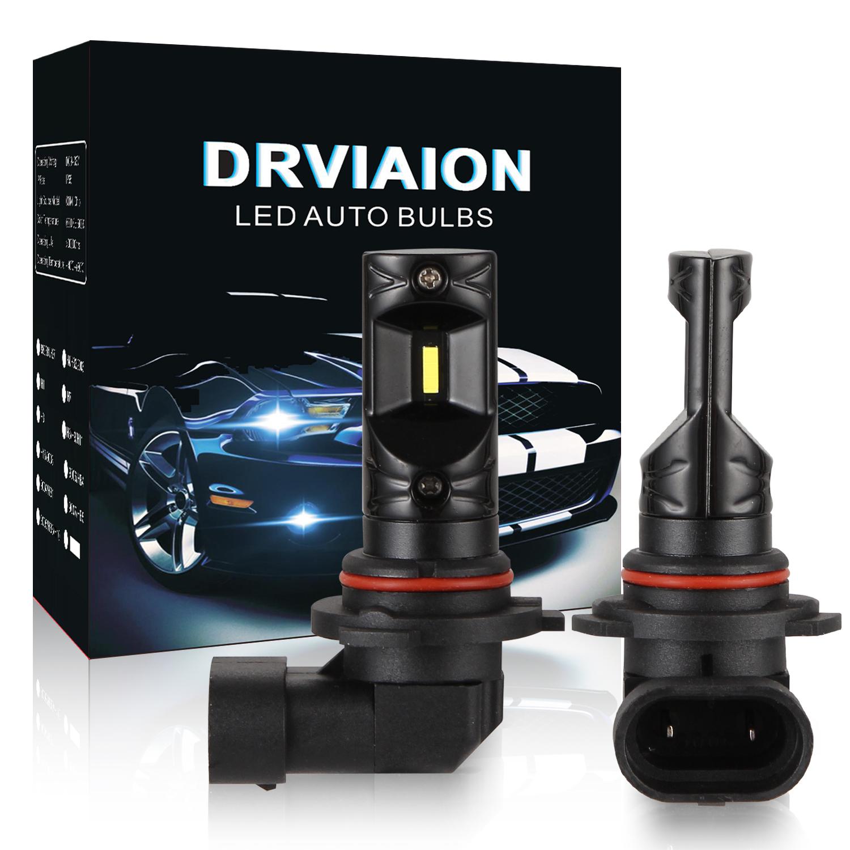 2PCS 9006/HB4 80W 6500K High Power LED Fog Light Bulbs Car Driving Lamp White light_V5CSP-9006