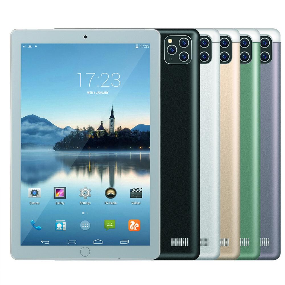 K10 Tablet Computer 10.1-inch HD Large Screen 1GB+16GB MTK6592 Eight-core CPU Tablet Black (UK Plug)