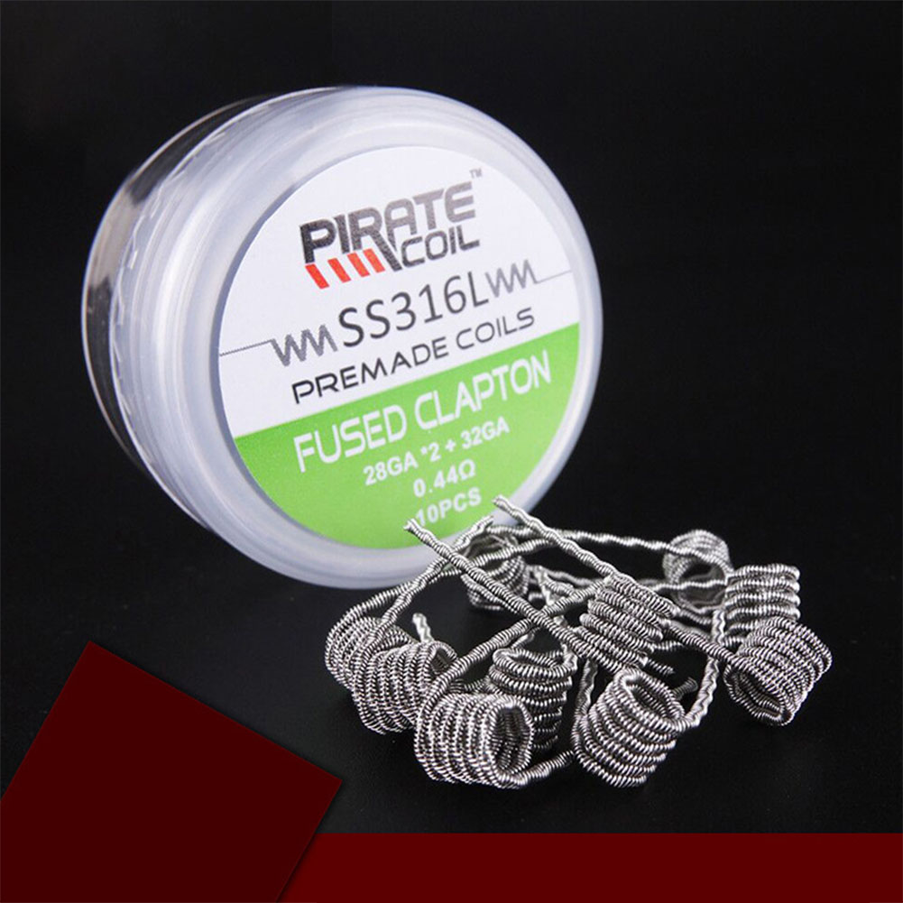 SS316 E-cigarette Heating Wire  Fused Clapton 0.44 ohms
