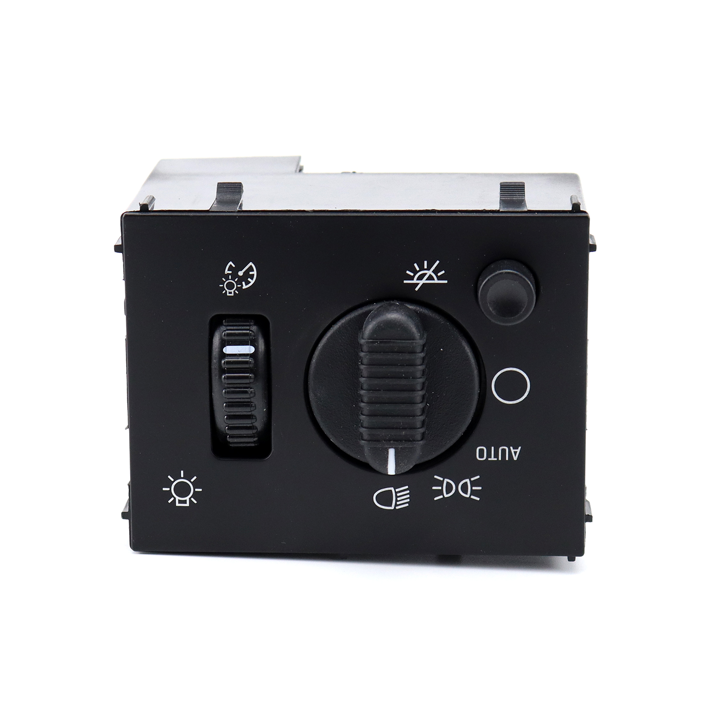 Headlight  Switch For Silverado 2003 2004 2005 2006 2007 Headlamp Dimmer Switch 19381535 black_OE 19381535