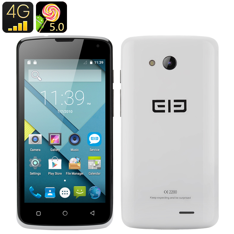 Elephone G2 Android 5.0 Smartphone (White)