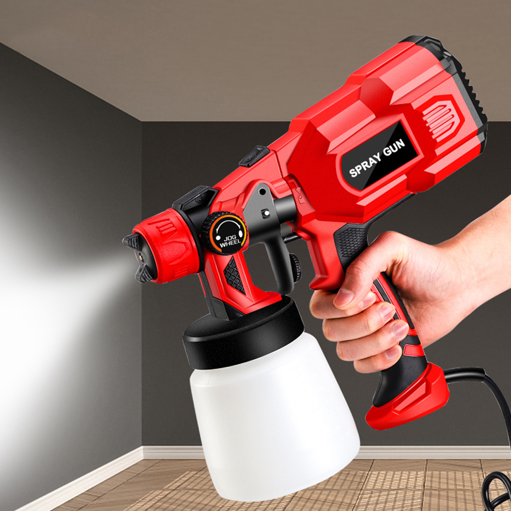 550W High Power Home Electric Paint Sprayer 1.8 2.5 Nozzle Cleaning Needle Set European plug