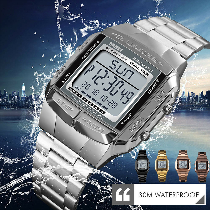 Men Luxury Watches Silver