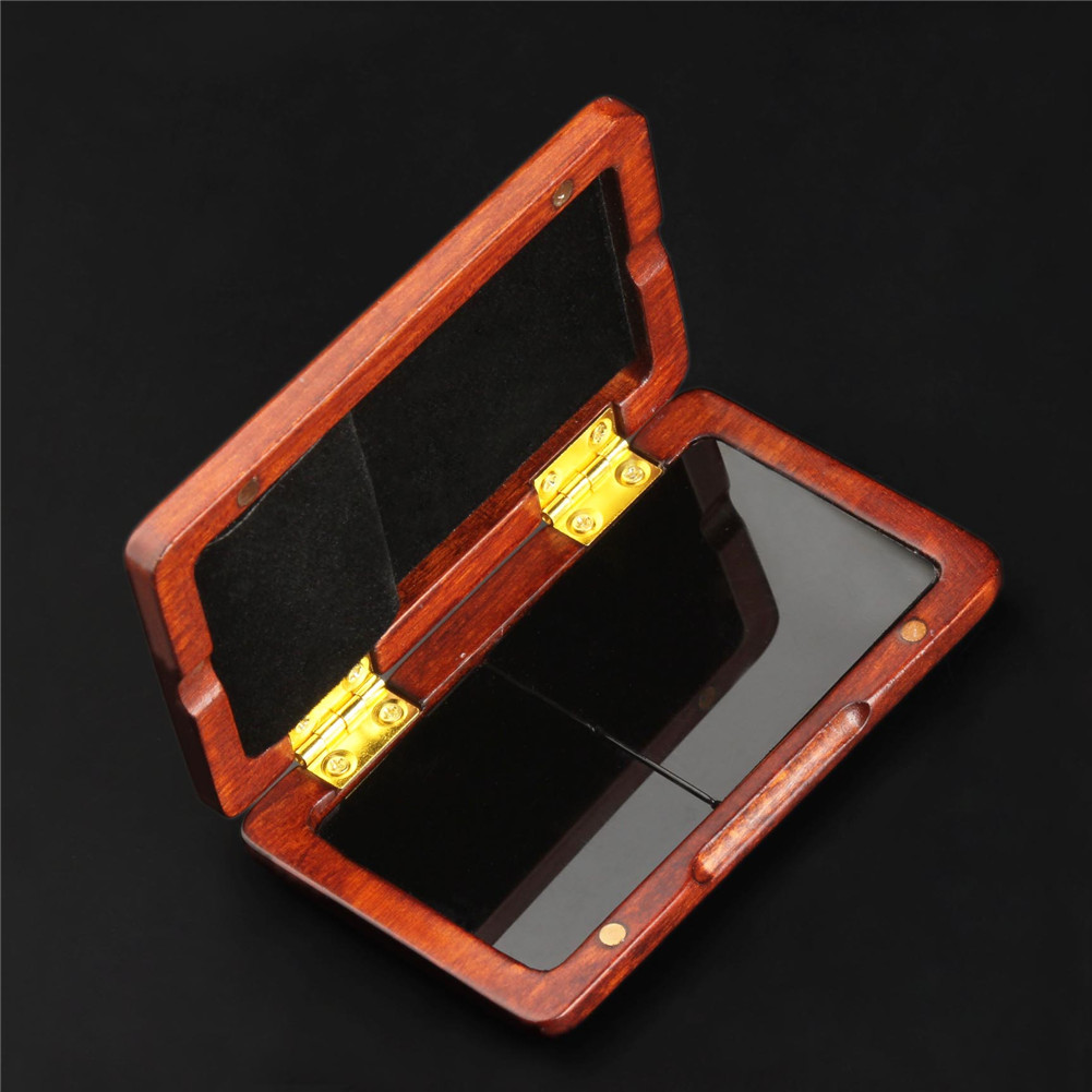 Saxophone Clarinet Reed Case solid wood Reed Box red