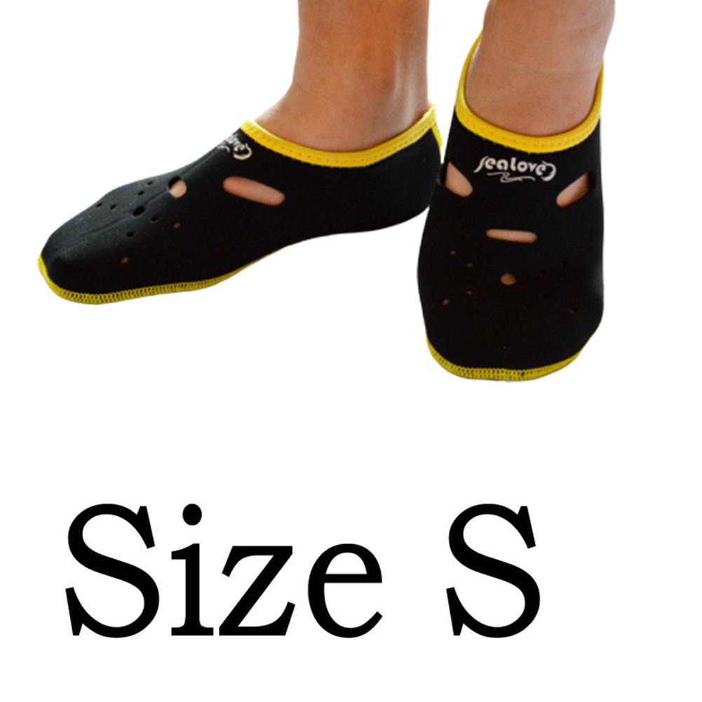 Water Sports Neoprene Diving Socks Anti Skid Beach Sock Swimming Surfing Neoprene Socks Adult Diving Boots Wet Shoes black_S