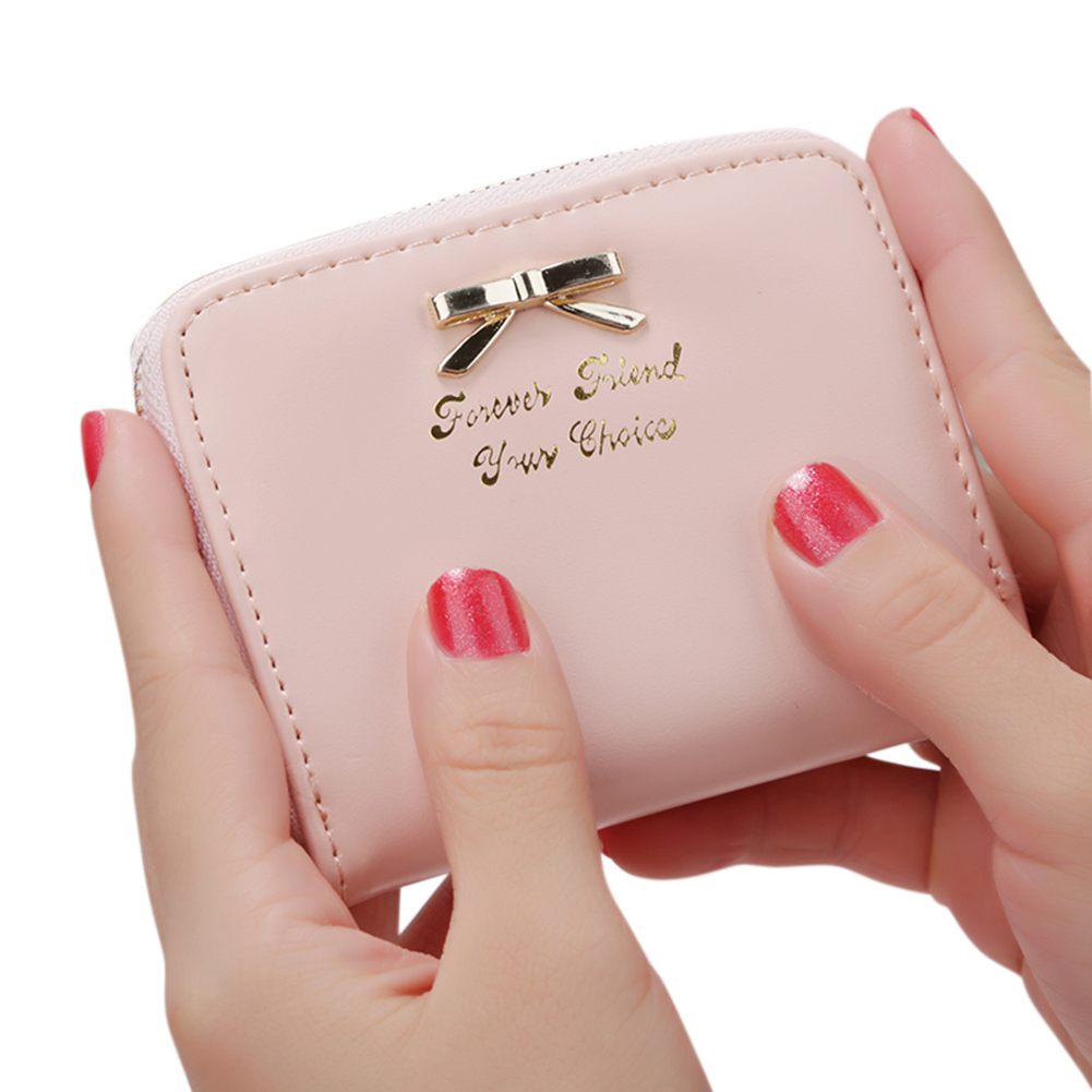Women Simple Short-style Clutch Bag