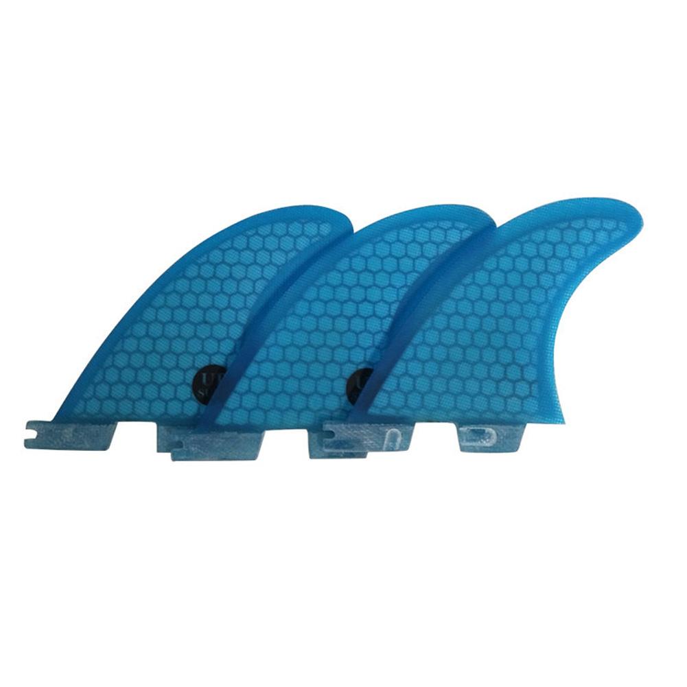 Surf Fins FCS 2 G3/G5/G7 Fins Honeycomb Fiberglass Fins Surf Surfboard Fin blue_G7
