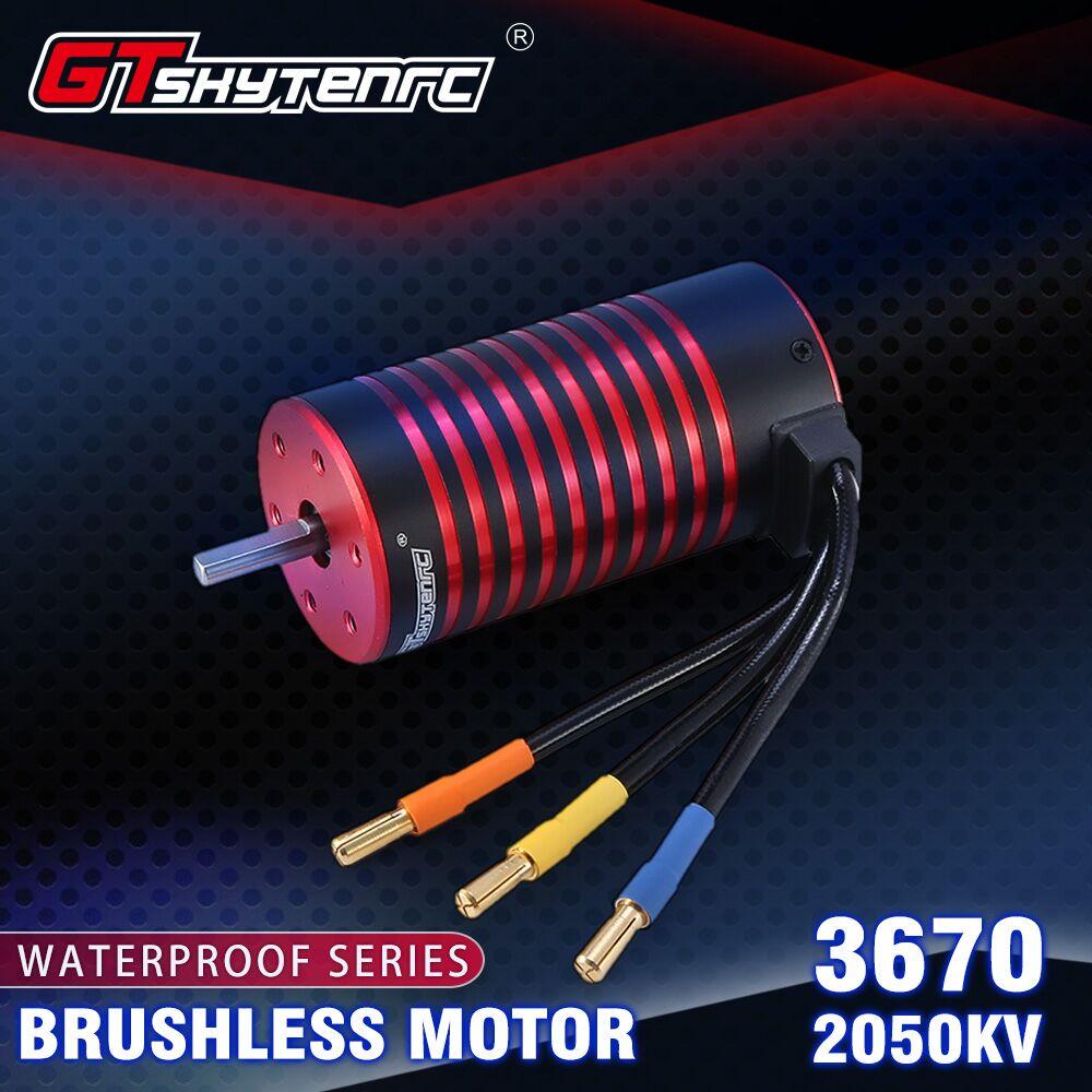 GTSKYTENRC 3670 2050KV/2650KV Brushless Motor for GTR/Lexus 2S 1:10 3S 4S 1:8 RC Drift Racing Off-road Car Truck Sensorless 2050KV