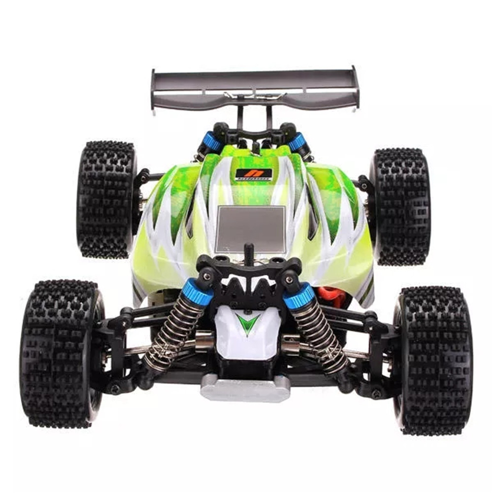 WLtoys A959-B 1/18 4WD High Speed Off-road Vehicle Toy Racing Sand Remote Control Car Gifts of Children's Day 2 batteries