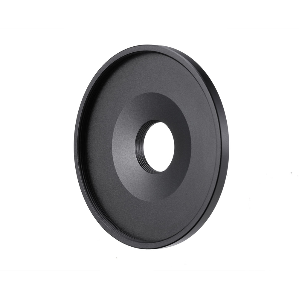 Universal 17MM to 52MM Phone Camera Lens Filter Adapter Ring for Android iPhone 11 Pro Max Piexl Xiaomi Huawei black