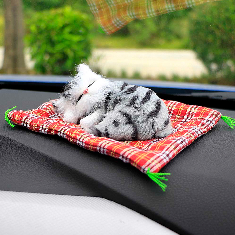 Car Ornaments Sleeping Cats Decoration