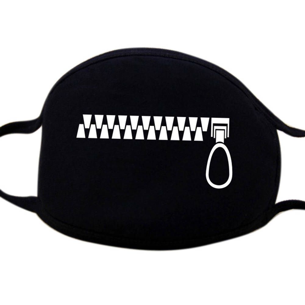 Stylish Sunproof Breathable Mouth Mask Cute Anti-Dust Face Masks Ornament Gift  KZ-3024