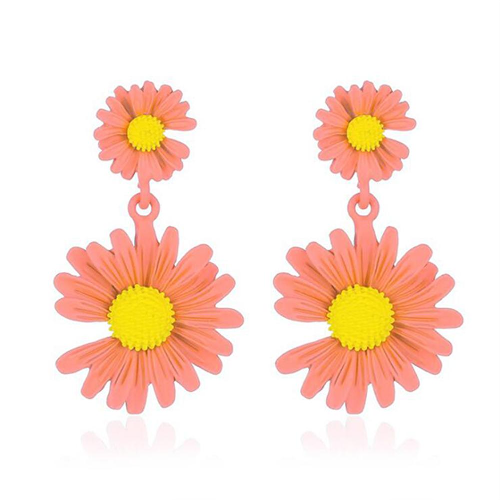 Elegant Daisy Earrings Cute Flower Earrings for Women Gift  01 Flesh