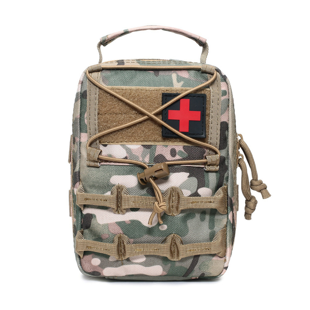 First Aid Bag Camping Pouch EMT Emergency Survival Kit Outdoor Multi-function Large Size Package CP