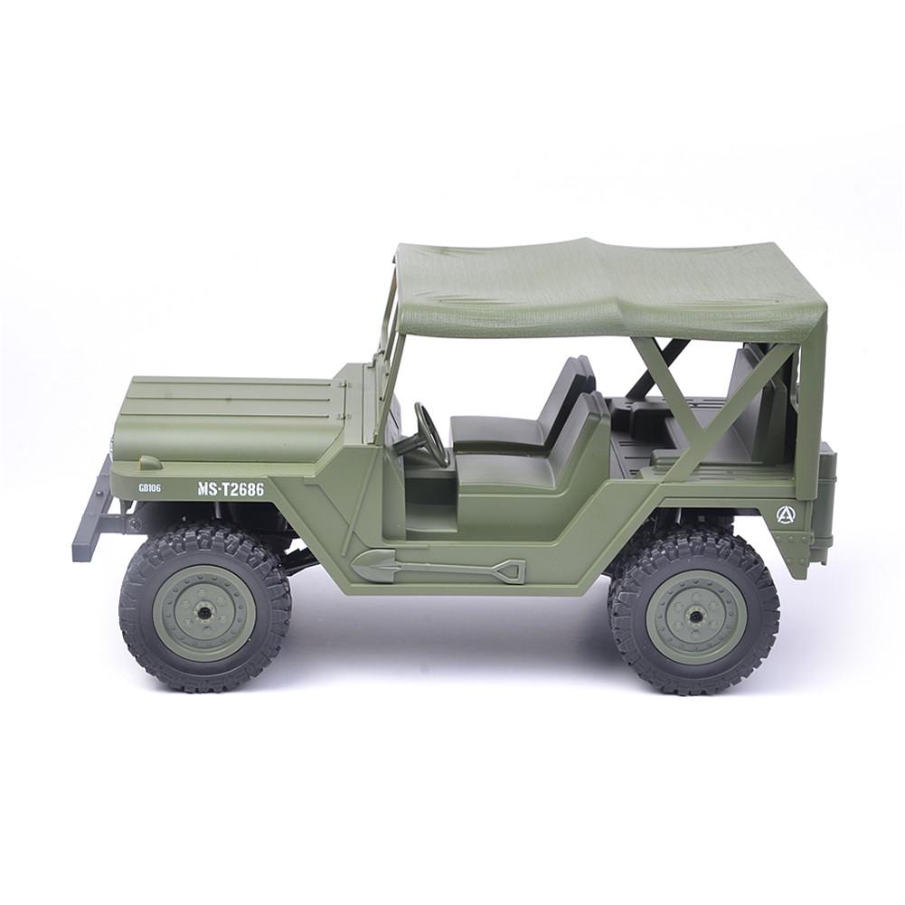 SUBOTECH BG1522 1/14 2.4G 4X4 4WD Crawler RC Car With Head Light RTR green