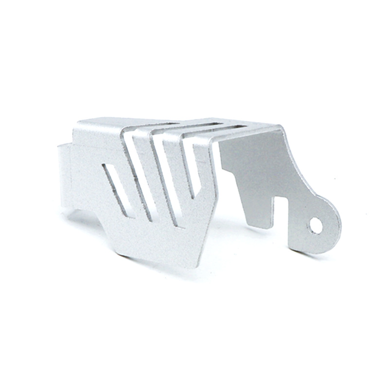 Motorcycle Rear Oil Cup Protective Cover Rear Brake Protector For Honda Crf1000l 16-19 Silver