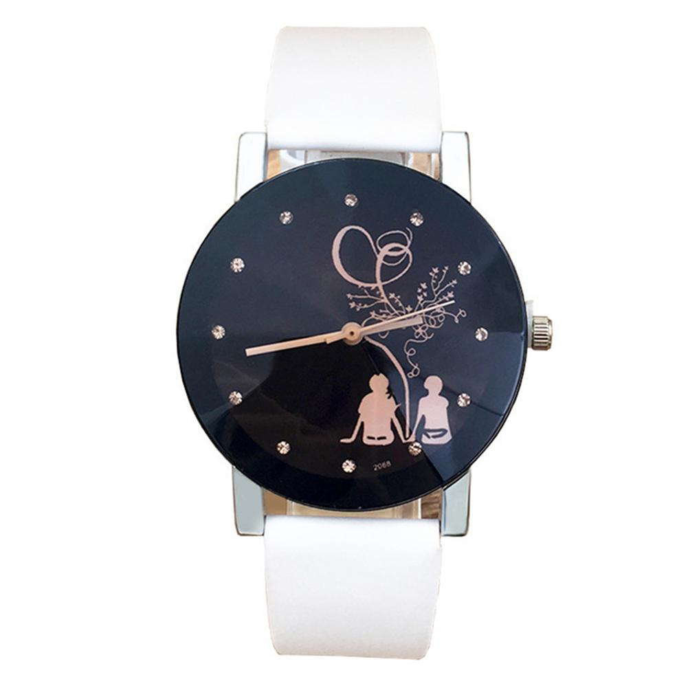 Fashion Lovers Back Profile Watch Elegant All-match Quartz Watch
