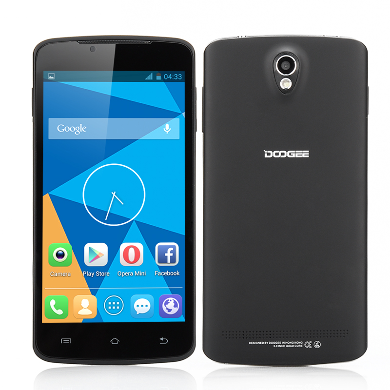 DOOGEE MINT DG330 Phone (Black)
